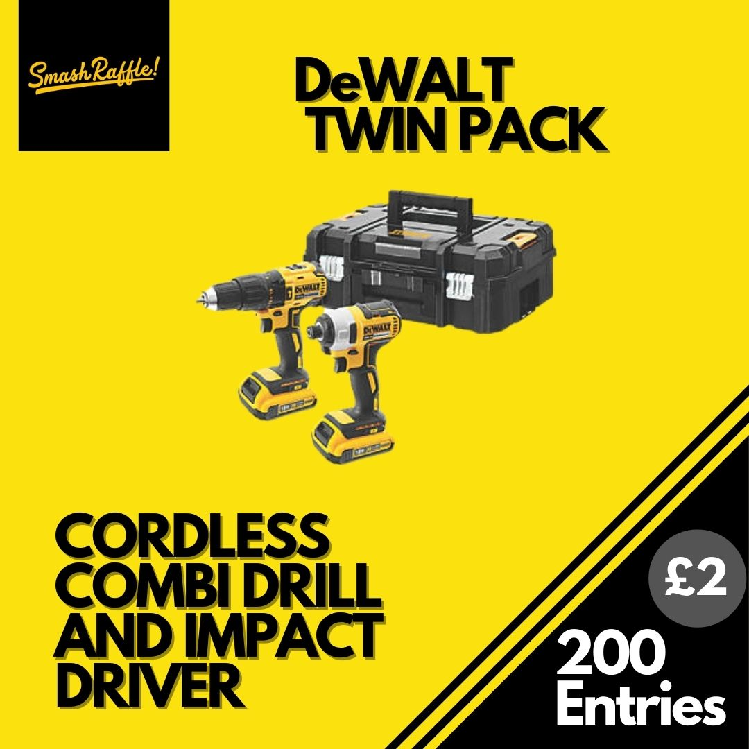 DeWALT DRILL AND IMPACT DRIVER TWIN PACK