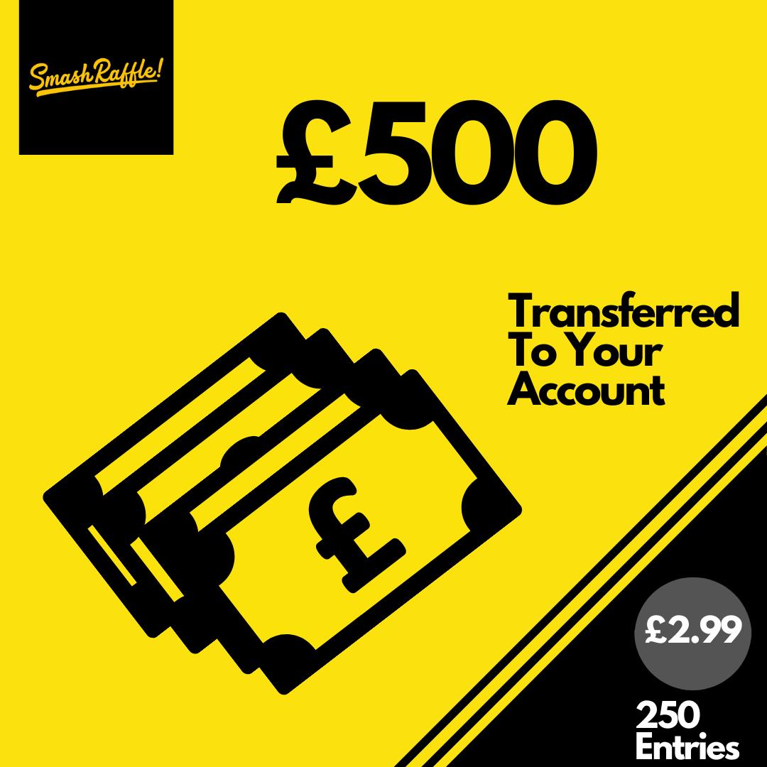 £500 cash #1