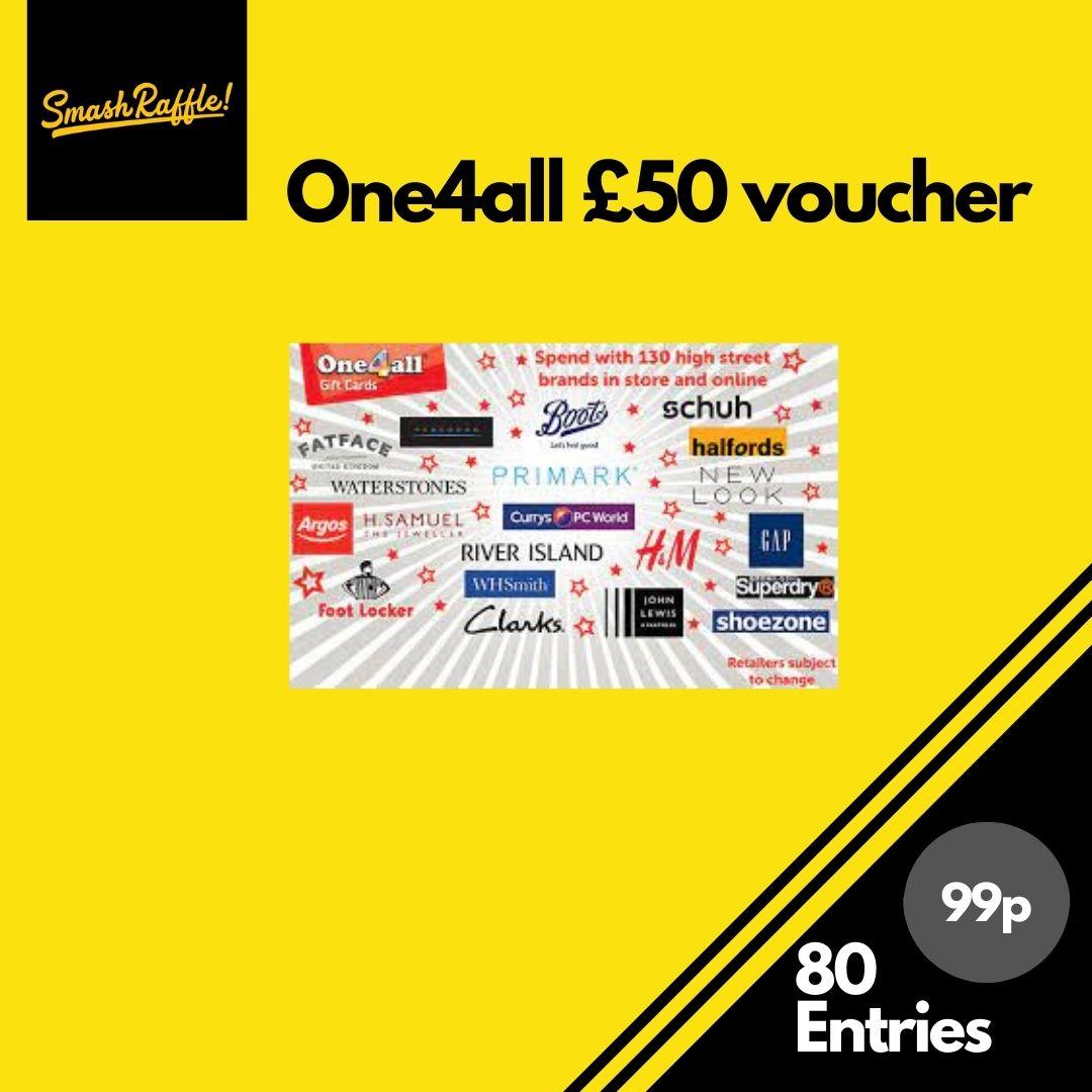 £50 one4all voucher