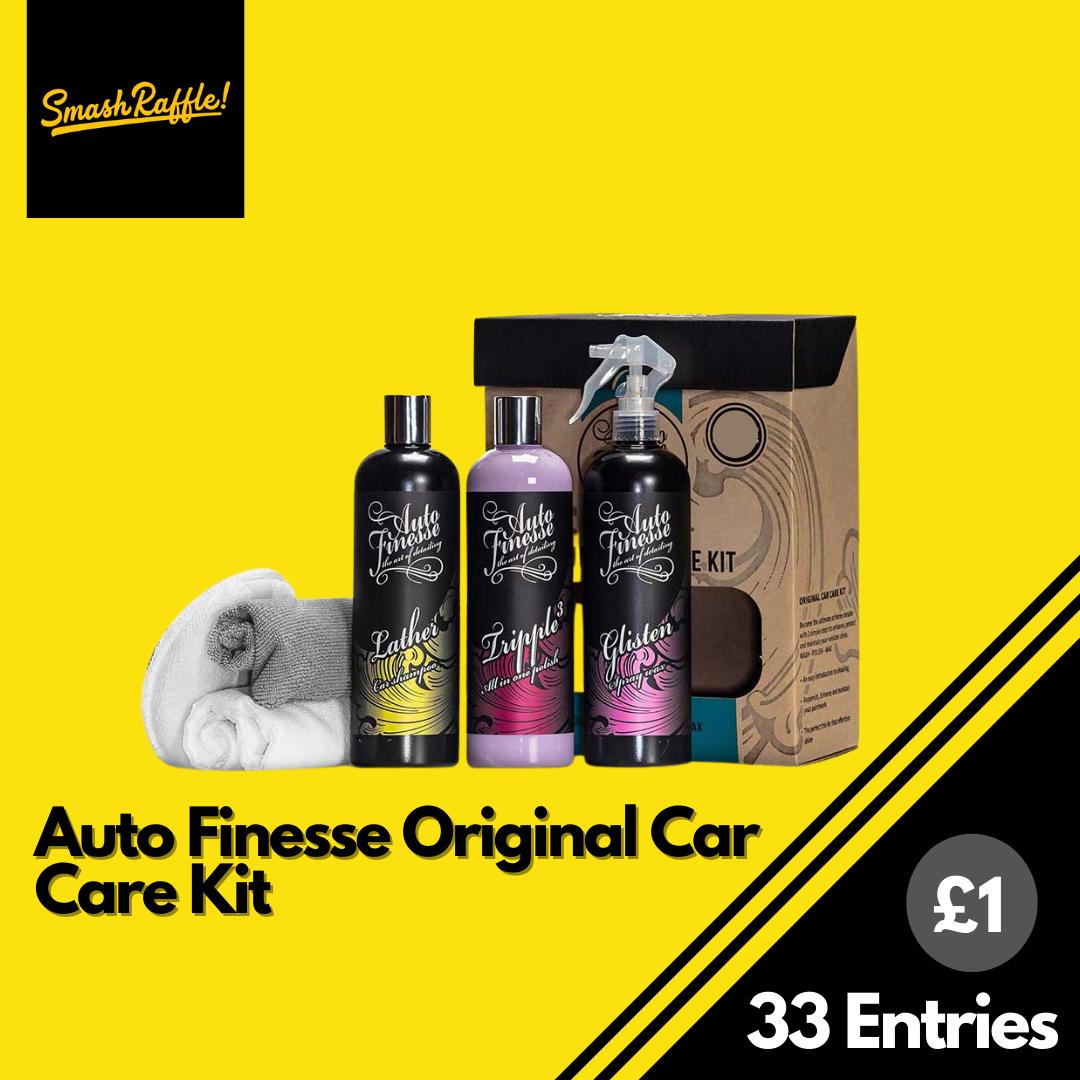 Auto Finesse Original Car Care Kit