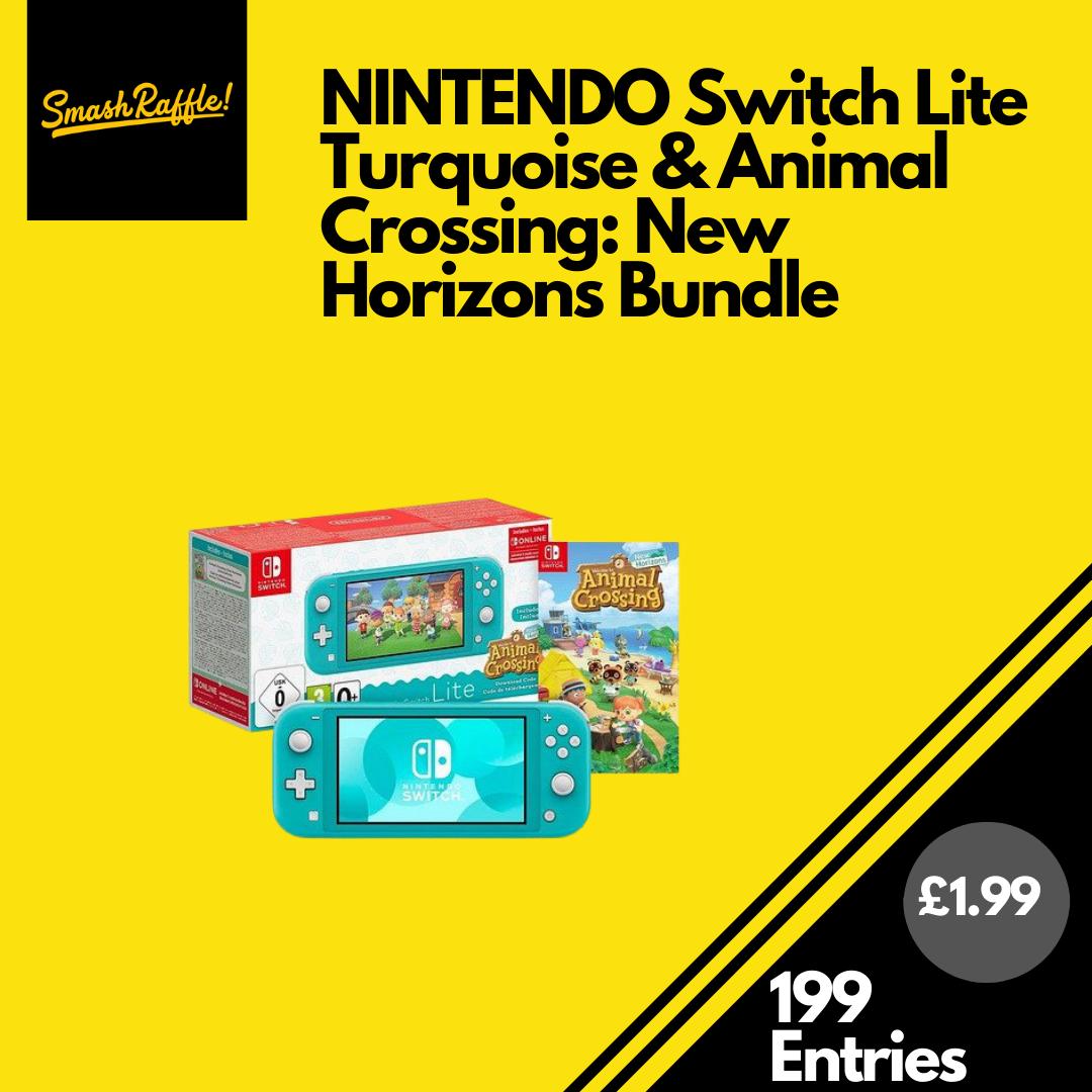 Nintendo Switch Lite Animal Crossing Bundle